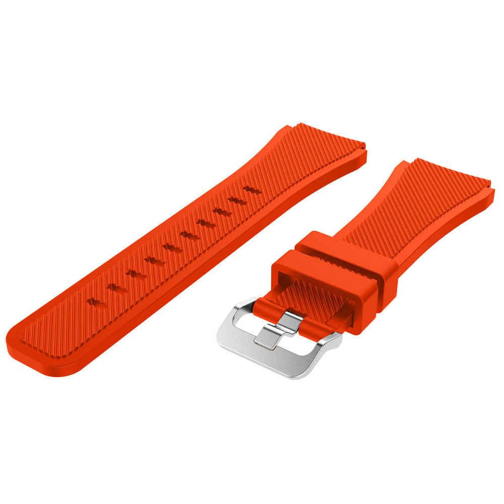22 millimetri di Sport Cinturino Da Polso In Silicone per Huawei Orologio GT Astuto Della Vigilanza di Banda di Ricambio Smartwatch