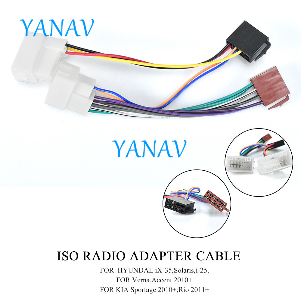 research.unir.net CARAV 12-133 Autoradio Adapterkabel ISO fr ...