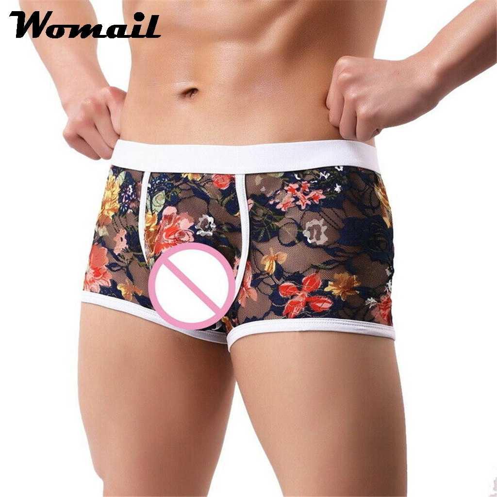 Mens Model Swiming Breathable Underwear Shorts Briefs Boxers Trunks Underpants