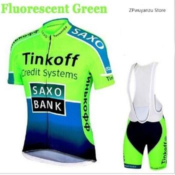 Conjunto de Ciclismo de Jersey de TINKOFF equipo Pro 2019 Jersey de...