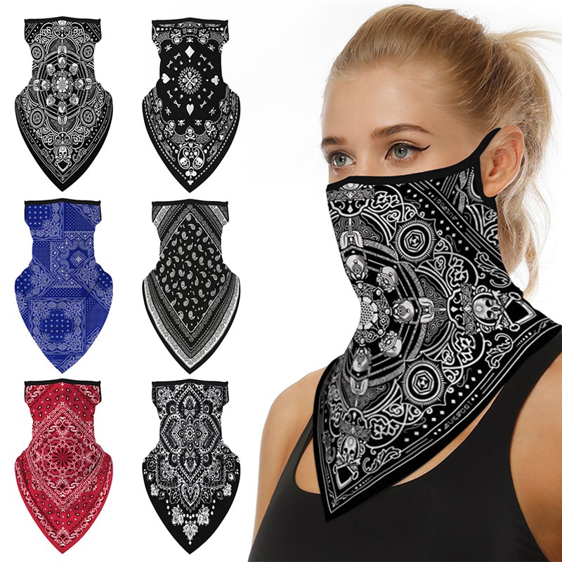 Outdoor Climbing Hiking Cycling Face Mask Neck Multi-Functional Lightweight Breathable Dust-proof Anti-sweat Hairband Head Scarf