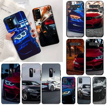 HPCHCJHM Blue Red Car for Bmw Soft Silicone Black Phone Case for Samsung S20 plus Ultra S6 S7 edge S8 S9 plus S10 5G lite 2020 image