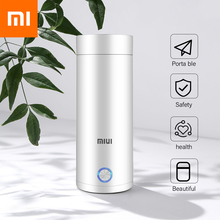 XIAOMI mijia Portable Electric Kettle Thermal Cup Coffee Travel  Temperature Control Smart Water Kettle Thermos Pot Mijia Youpin