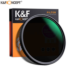 K&F Concept ND8-ND128 Variable ND Filter 52mm 58mm 62mm 67mm 72mm 77mm 82mm NO X Spot Fade Neutral Densityr Filter For Lens