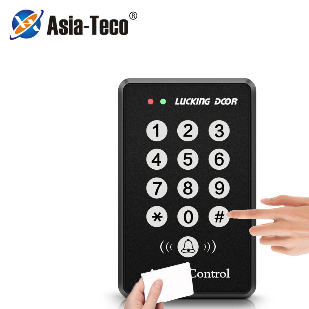125Khz RFID Access Control System Device Machine Security RFID Proximity Entry Door Lock Access Control Keyboard