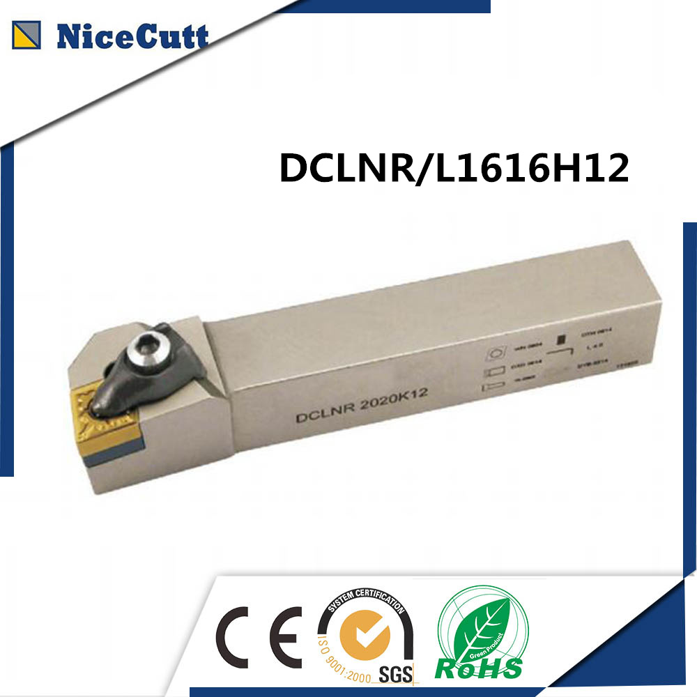 DCLNR1616H12;DCLNL1616H12 External CNC Turning Lathe Machine Tools with 2pcs insert <font><b>CNMG120404</b></font> Lathe Cutting Tools DCLNR Turning image