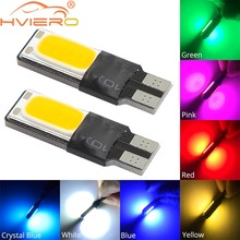 Luz de Freno LED para matrícula de coche, luz de estacionamiento T10 W5W Canbus 194 W5W COB, lámpara lateral, 2 uds.
