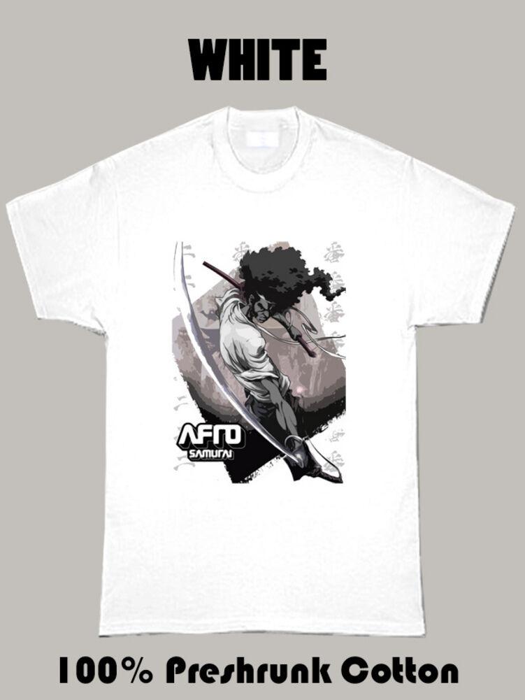 Afro Samurai Anime Manga Samuel L Jackson T Shirt Aliexpress