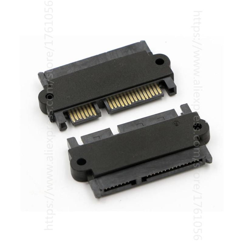 SATA 22P 7+15 Male to SATA 22Pin 7 15 Female Convertor Adapter