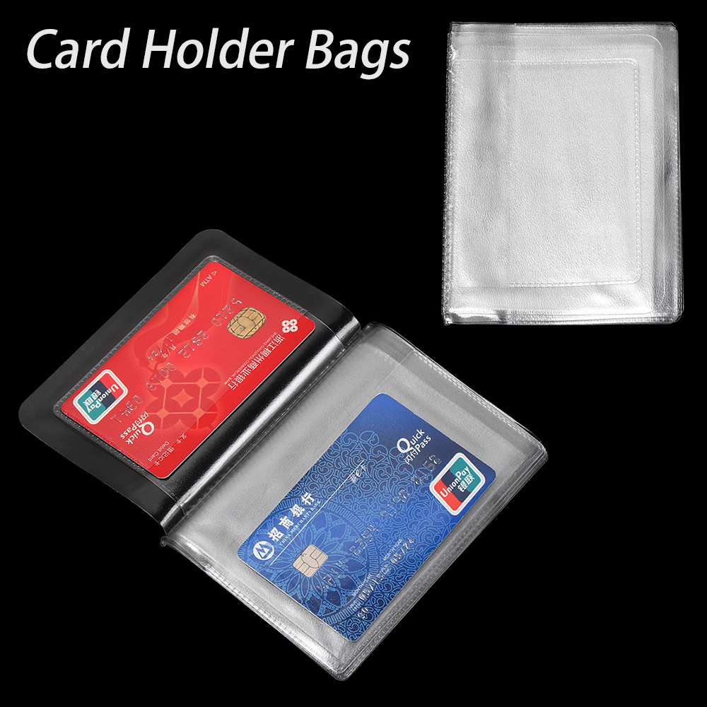 New 1PC PVC Driver's License Case Protect High Quality Waterproof Transparent Auto Documents Cover Car ID Card Holder Bags