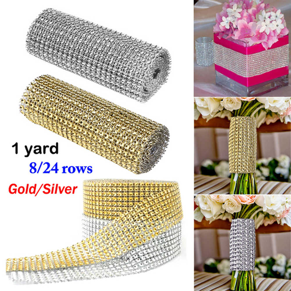Glitter Effect Sparkle Metallic Gold//Silver Wedding Party Gift Wrapping