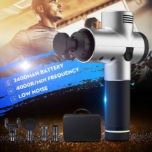 Tissue Massage Gun With LCD Display Release Body Muscle Pain  After Training Exercising And Relaxation  Slimming Shaping