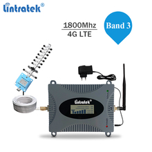 Lintratek 4G Signal Booster 1800Mhz LTE Repeater 1800 Ampli Mobile Phone Internet Band 3 DCS