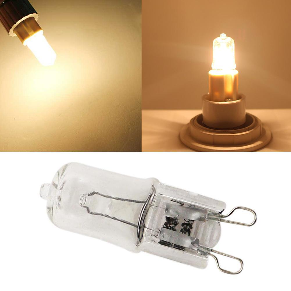 1pc G9 240v 25w Clear Capsule Light Bulb Oven Cooker Home White Lighting Beads Halogen Warm Energy Lamp Frosted Saving Indo S0H6
