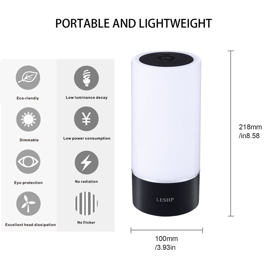 LED Light Smart Table Lamp WiFi Wireless Routers 12W Dimmerble No Flicker No Radiation Plug And Play Eye-protection