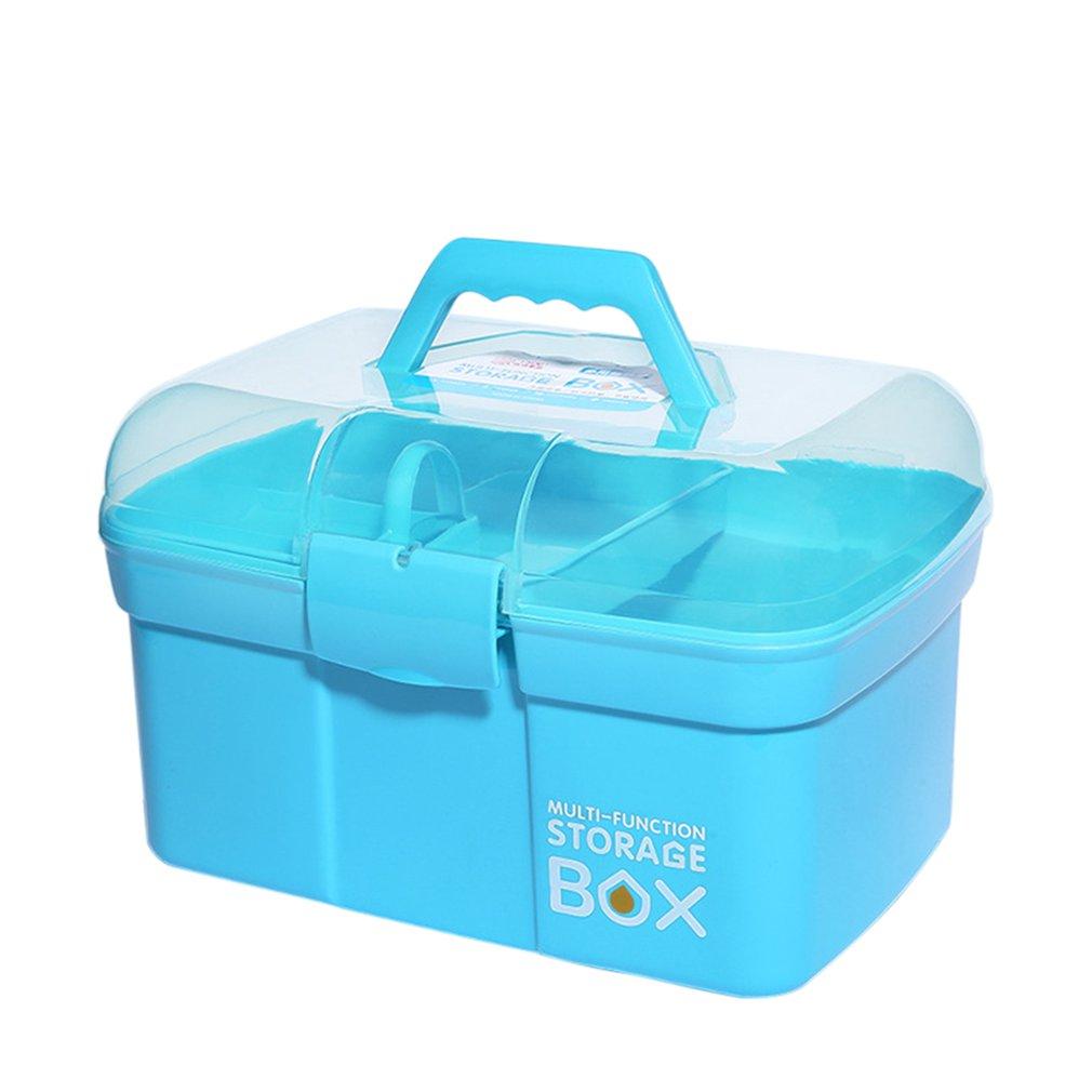 Home Storage Box Medicine Box Multi-Layer First Plastic Beauty Cat Nail Box Children's Toolbox Small Medicine Box