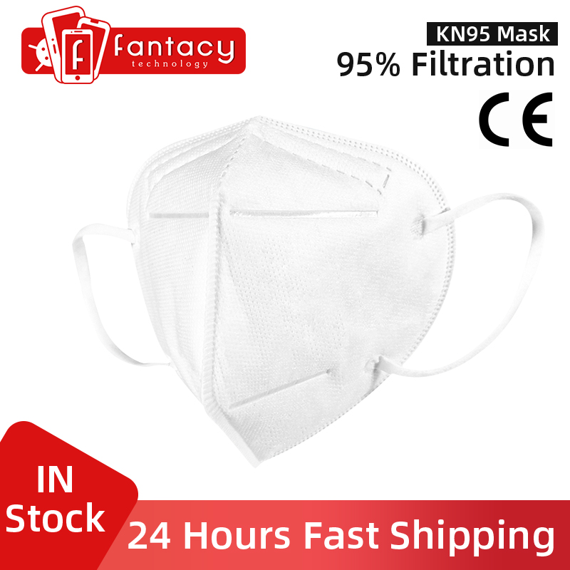 Fast Shipping KN95 Mask Respirator Valve Mascarilla FPP2 Nti-fog Mask N95 95% Filtration Anti Infection Face Mask