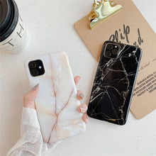 Fashion Gradient Marble Phone Case for IPhone 11 Soft TPU Cover Iphone X XS MAX XR 7 6 6S 8 10 Coque Fundas