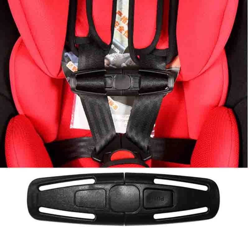 5 Pcs Baby Car Safety Seat Strap Belt Harness Chest Clip Lock Buckle Nylon Latch N1HB