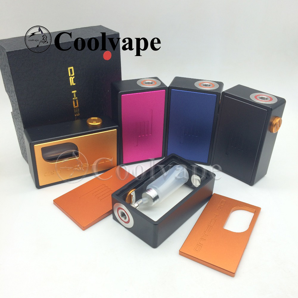 coolvape Ontech RD Mechanical Mech Mod BF Box Mod Haku Venna RDA bottom Feeder Battery Mod Aluminum Resin Material top
