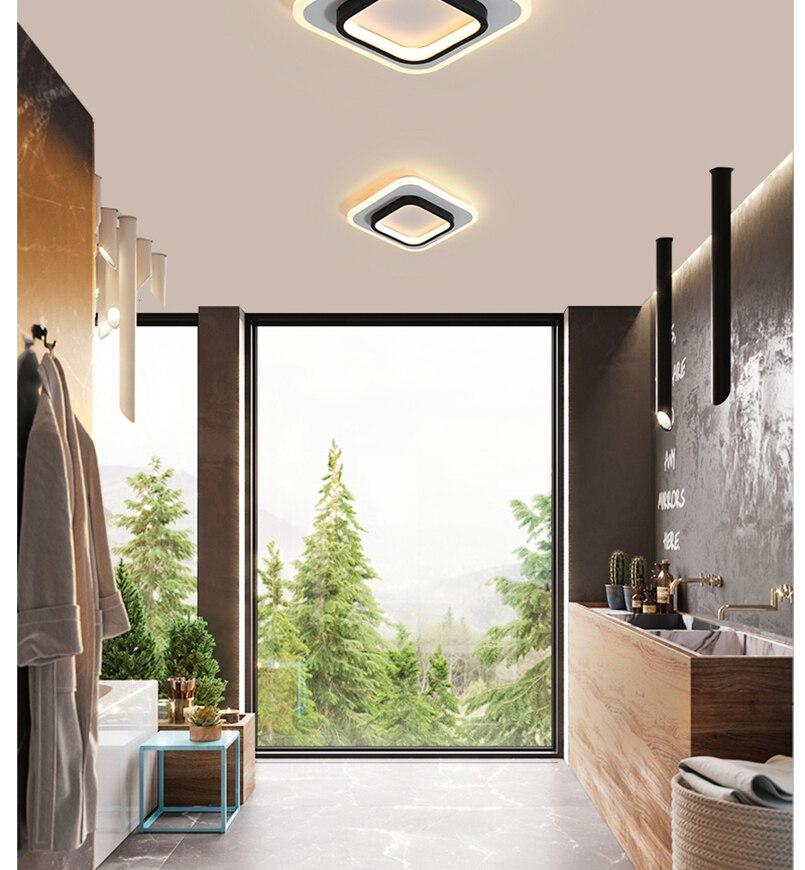 H6486fcf022d440db9a19743fb6e4d5b0g LICAN Modern LED Ceiling Lights for bedroom bedside Aisle corridor balcony Entrance Modern LED Ceiling Lamp for home