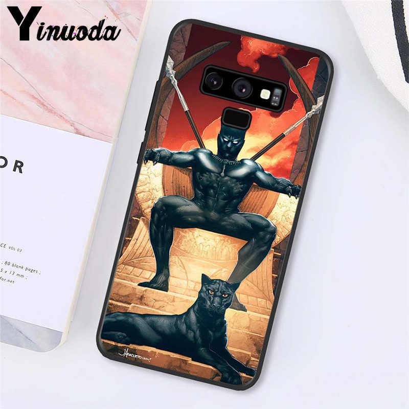 Yinuoda المنتقمون كاريكاتير الأعجوبة النمر الهاتف حقيبة لهاتف سامسونج غالاكسي A50 Note7 5 9 8 Note10 برو J5 J6 رئيس J610 J6Plus J7 الثنائي