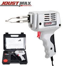 JOSTMAX Multi-Function Soldering Gun Fixed Double Tube Soldering Iron Head Heating Soldering Iron Welding Tools Mini Rapid