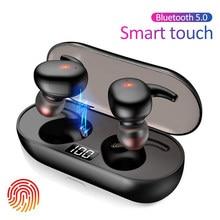 Q2 TWS Bluetooth kopfhörer 5,0 Wireless Headset Leben Wasserdicht Tiefen Bass Ohrhörer Wahre Wireless Stereo Kopfhörer Sport Kopfhörer