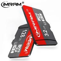 IMRAM Marke Micro SD TF Karte 32GB 64GB 128GB 256 GB Class 10 Flash Speicher Microsd Hohe-geschwindigkeit Karte 256 GB für Smartphone Adapter