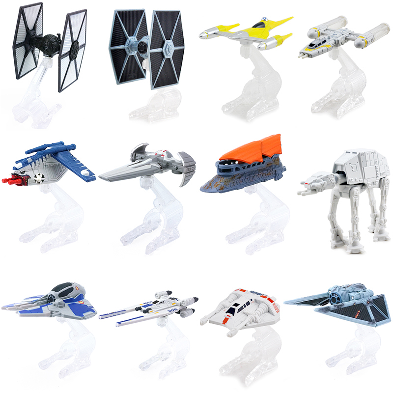 Disney Star Wars Metal Casting Spaceship Warship Assort Toys 1:64 Scale Diecast Metal Figure Doll Model Toy Xmas For Kids Gift