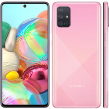 Used Samsung Galaxy A71 A715FN Global smartphones 6G RAM 128G ROM 6 7 #8243 4G LTE Android mobile phones celular 64MP unlocked 2SIM cheap Amox Not Detachable Other CN(Origin) Fingerprint Recognition 12MP ≈64MP 4500 Adaptive Fast Charge english Russian German
