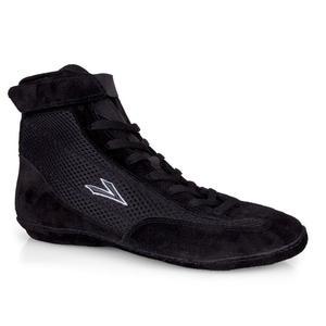 Лига обувь для борьбы черного цвета