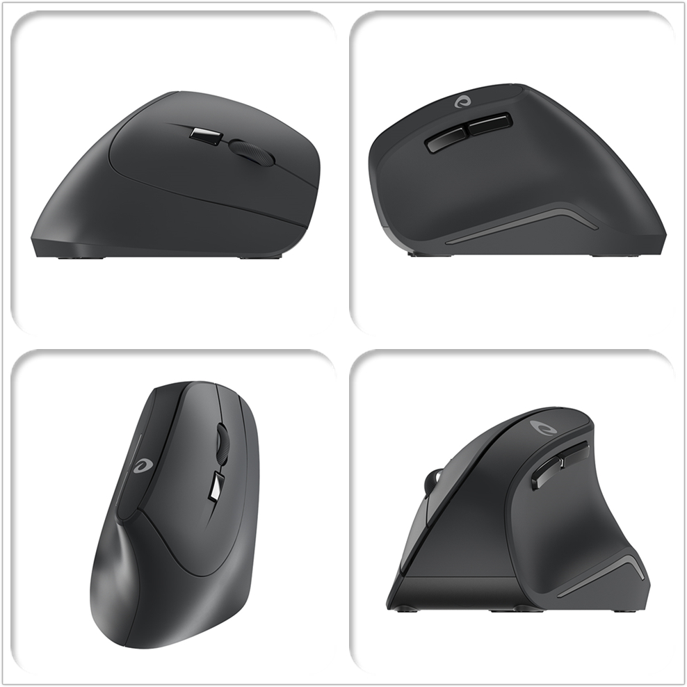 Image 2 - DAREU LM108G 2.4Ghz Wireless Vertical Mouse 6 button 1600 DPI Ergonomic skin type Mice For PC Laptop Computer OfficeMice   -