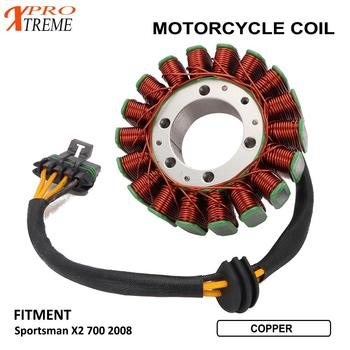 Motorcycle Engine Generator Magneto Stator Coil For Sportsman X2 700 2008
