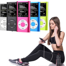 Ультратонкий 4 поколения Walkman MP4 1,8 дюймов многофункциональный HD видео разъем TF карта MP3-плеер Многоязычная запись электронная книга
