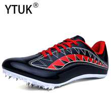 YTUK Track & Field Shoes Men Women Student Training Athletic Spike Shoes Running Track Race Jumping Men Shoes Sneakers Unisex 45