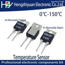 Термальность переключатель Температура Сенсор предохранитель для термостата 0, 5, 10, 15, 20, 25 30 35, 40 45 50 55 60 65 70 75 80 85 90 95 100 C градусов NC без