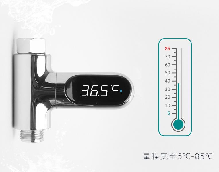 Image 4 - Nowy xiaomi Mijia ulepszona wersja kąpieli kąpieli dziecko liczenie temperatury wody wyświetlacz prysznic led termometr elektroniczny w Inteligentny pilot zdalnego sterowania od Elektronika użytkowa na