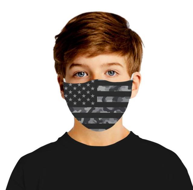 New Adult Mouth Mask Adjust belt Free 2pcs mask filter Big Boy Girl Windproof Washable proof Flu Face masks Care Five layers 2