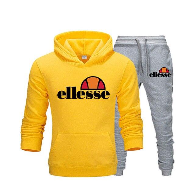 Custom Hoodies Men Sweatshirt Comfort Homewear Hooded Pullover Streetwear Mens Suit 2