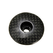 3K Carbon Fiber Bicycle Headset Caps 1-1/8 inch Mountain Bike Cycling Mtb Headset Stem Top Cap Cover carbon fiber bicycle headset caps 1 1 8 mountain bike cycling mtb 28 6mm headset stem top cap cover new 1pc