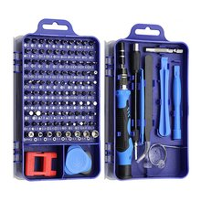 115 In 1 Screwdriver Set Mini Precision Screwdriver Computer Pc Mobile Phone Device Repair Hand Home Repair Tools multitool screwdriver iphone tools case 25 in 1 leather torx set mobile phone repair hand for watch tablet pc new herramientas