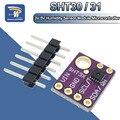 Цифровой выходной модуль датчика температуры и влажности SHT30/SHT31, интерфейс IIC I2C, 3,3 В, стандартный для Arduino