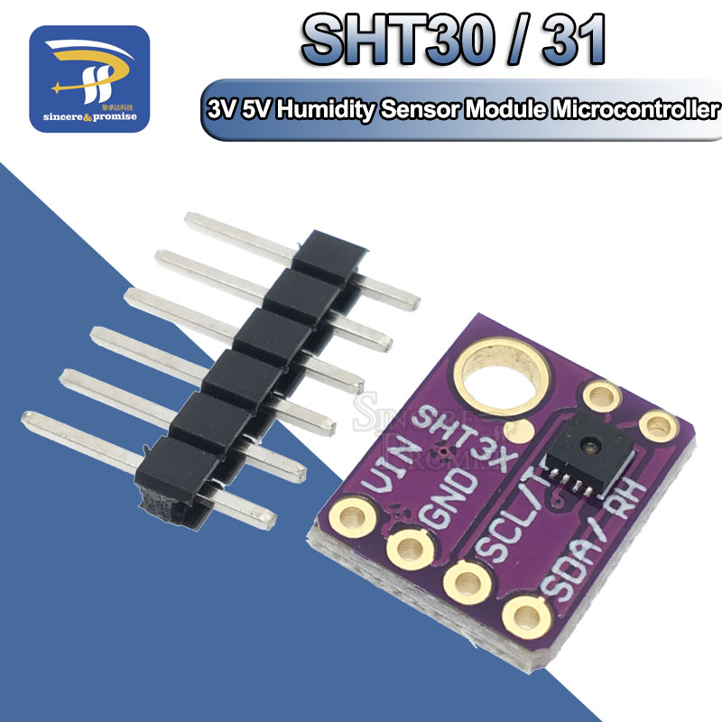 Gy-Sht31-D Digital Temperature And Humidity Sensor Module Colorful CR