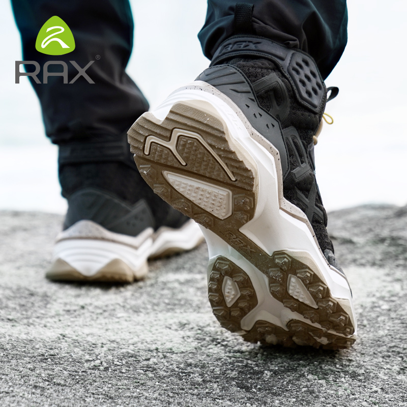 RAX New Style Warm Men Hiking Shoes Winter Outdoor Walking Jogging Shoes Mountain Sport Boots Climbing Sneakers Free Shipping