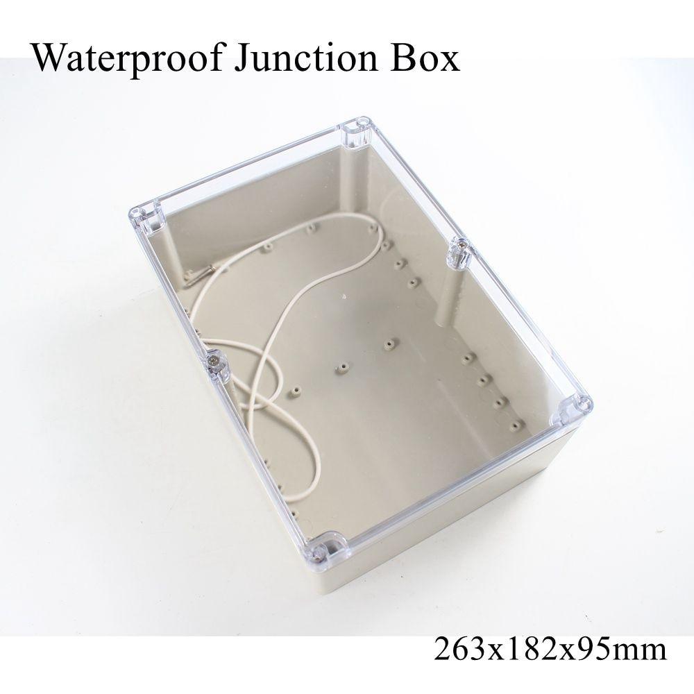 IP54 56 mm 39 mm ABS Custodia di Plastica PCB box