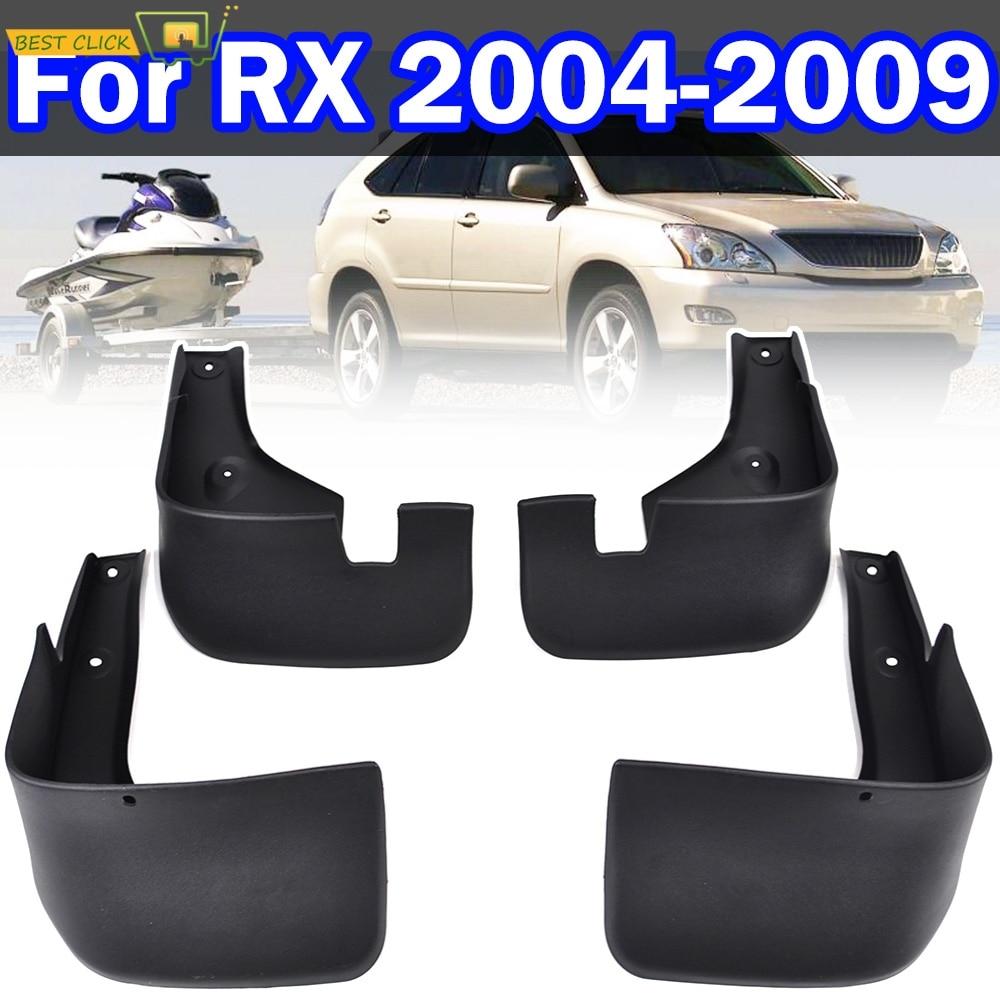 Комплект автомобильных брызговиков для Lexus RX330 RX350 RX400h 2004-2009 Брызговики, брызговики, крыло брызговиков 2005 2006 2007 2008