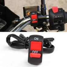 Motorcycle Handlebar Mount On-Off Button Switch Double Flash Dangerous Lamp Switch Controller Switch Headlamp Switch TXTB1 cheap CN(Origin) 0 037kg Plastic