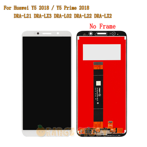 """Image 2 - 5.45"""" For Huawei Y5 Prime 2018 DRA LX2 Full LCD Display Touch Screen Sensor Glass Frame For Y5 2018 DRA L21 DRA L01 LCD Screen"""