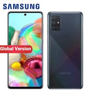 Samsung Galaxy A71-A715f/ds 8GB 128GB WCDMA/CDMA/LTE/GSM Nfc Adaptive Fast Charge Bluetooth 5.0